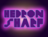 Hedron Sharp Display Font