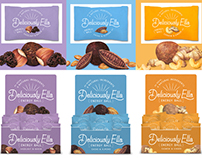 Food packaging illustration for Deliciously Ella