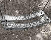 WordsHaveConsequences Viral Campaign
