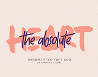 FREE | The Absolute Handwritten Font Duo