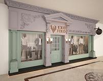 Exo Fixo Suites Store Design