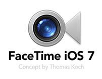 FaceTime iOS 7 // Concept