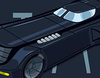 Batman: TAS 1992 Batmobile