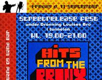 Flyer for HipHop Event Copenhagen - 2009