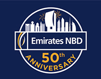 Emirates NBD 50th Anniversary Logo Competition