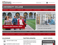 University College Webpage