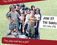 Baseball Film Series Poster