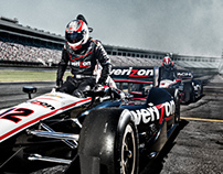 Andy Batt + Verizon Indy Car Racing