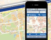 University of Florida Campus Map