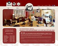 Changes City Spa Web Design Project