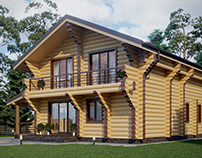 Wooden house #3