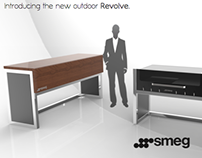 Smeg Revolve Barbeque