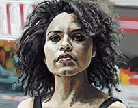Zazie Beetz Portrait