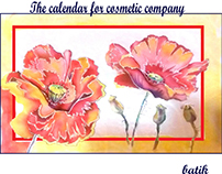 the calendar for cosmetic company