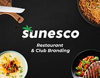 Sunesco Restaurant & Club Branding
