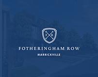 Fotheringham Row Branding