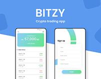 BITZY Bitcoin app free UI kit