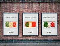 Mia Mensa Restaurant - Billboard, Poster, Brand