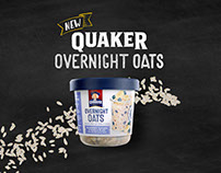 Quaker - Steep, Sleep & Eat