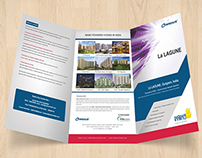 Three Page Foldable Brochure For La Lagune