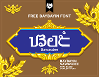BAYBAYIN SAWASDEE Free Concept Font