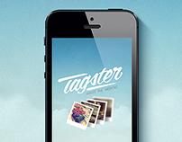 Tagster iOS App.