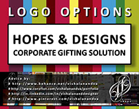 Logos: HOPES & DESIGNS-Corporate Gifting Solutions