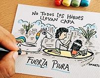 Ilustración: No todos los héroes llevan capa