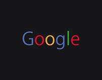 Google ReDesign + PSD