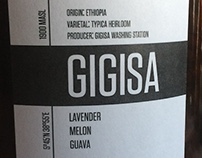 Roast House Coffee - Gigisa Label 2016