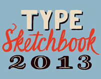 Type and Lettering Sketchbook - May 2013