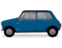 Vintage Mini Vector Icon