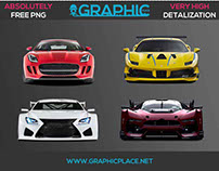 Sport Cars – Free PNG