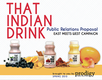 That Indian Drink Public Relations Proposal