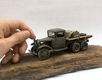 Soviet Truck - GAZ - AAA