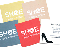 Shoe & She Collateral