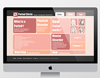 Period Circle Web Design