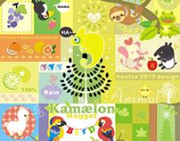 ★【Kamælon狂想曲】(hoelex+Kowei)品牌合作的設計T-Sh