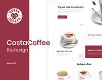 Costa Coffee - Redesign