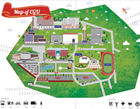 Map of CGU