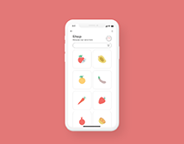 MyGrocery - Fruit delivery App