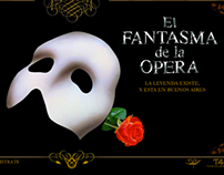 The Phantom of the Opera - Website