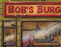 Bobs Burgers Storefront