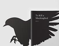 Book Cover Design - To Kill a Mocking Bird
