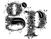 Garden Party Graphic Design Exhibition logo.