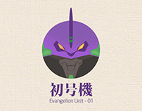 Evangelion Units 01 / 03 / 08