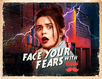 Face your fears with Rappi - Halloween campaign