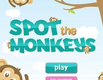 KIPLING Spot the Monkeys App