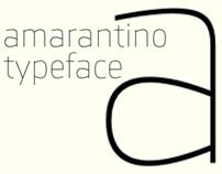 Amarantino typeface