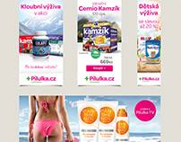 Pharmacy banner ads
